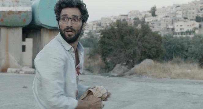 Sami (Ziad Bakri), dans«Le Traducteur», de Rana Kazkaz et Anas Khalaf.