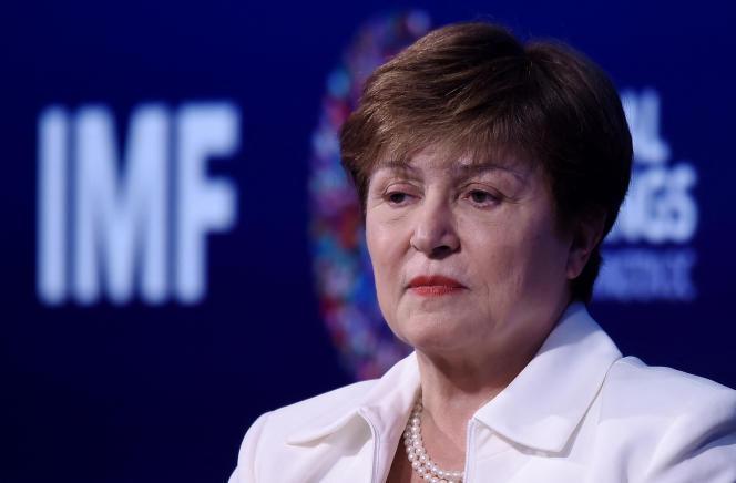 IMF Executive Director Kristalina Georgieva in Washington in October 2019.