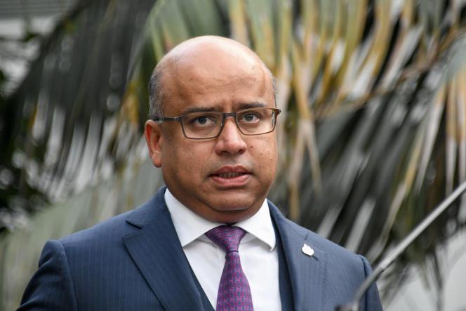 Sanjeev Gupta, à Dunkerque, en 2019.