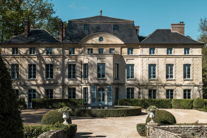 Le domaine de Primard, un petit château du XVIIIe siècle assis sur 40 hectares de nature, àGuainville(Eure).