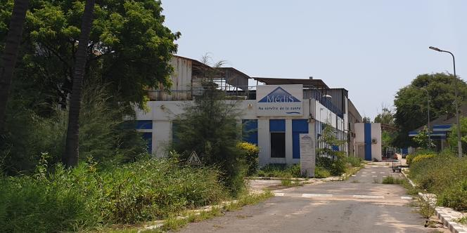 L'usine de fabication de médicaments Médis, à Thiaroye, dans la banlieue de Dakar, en septembre 2021.