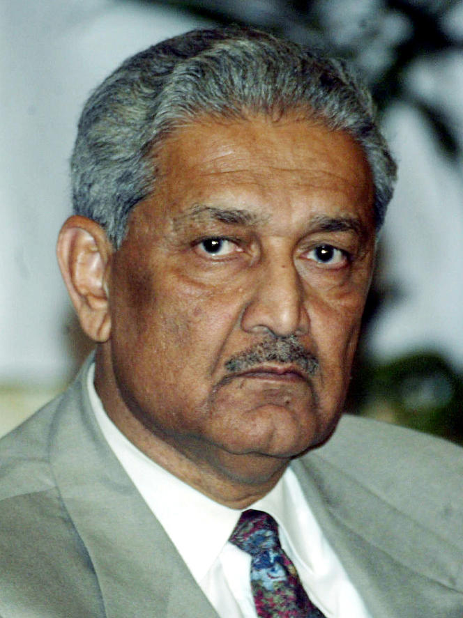 Abdul Qadeer Khan, à Islamabad, le 24 décembre 2003.