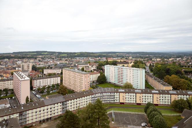 HLM du quartier des Résidences, à Belfort, le 26 septembre 2021.