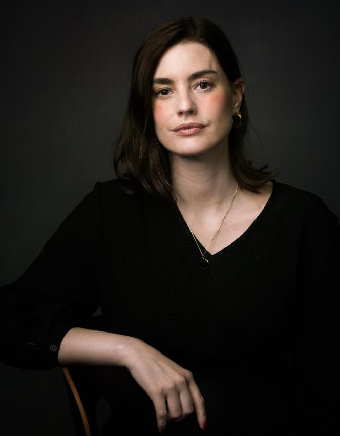 Laurie Nunn, lors de Canneséries, à Cannes (Alpes-Maritimes), le 9 octobre 2021.