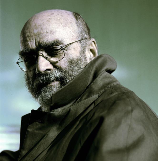 Le compositeur Luis de Pablo, à Paris, en 2003.