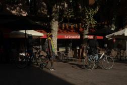 Le Grand Café de la Poste à Perpignan, le 18 septembre 2021.