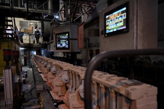 L'usine de Fonderies du Poitou installée à Ingrandes-sur-Vienne (Vienne), le 17 juin 2021.