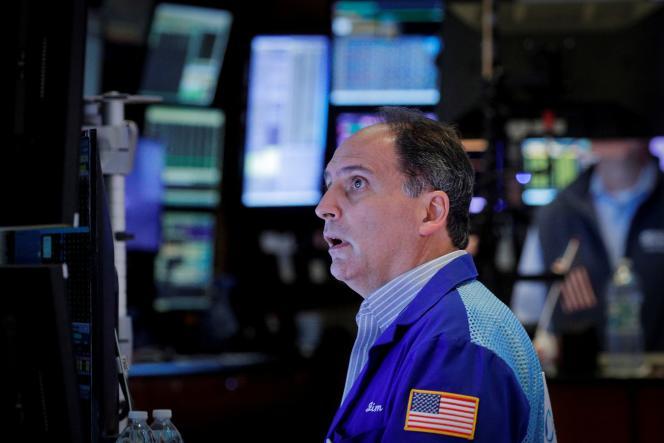 A la Bourse de New York, le 13 octobre 2021.