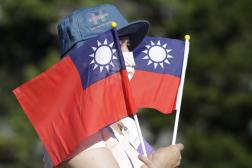 Lors de la fête nationale taïwanaise, à Taipei, le 10 octobre 2021.
