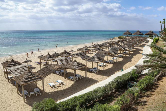 A Hammamet, sur la côte tunisienne, le 7 octobre 2021.
