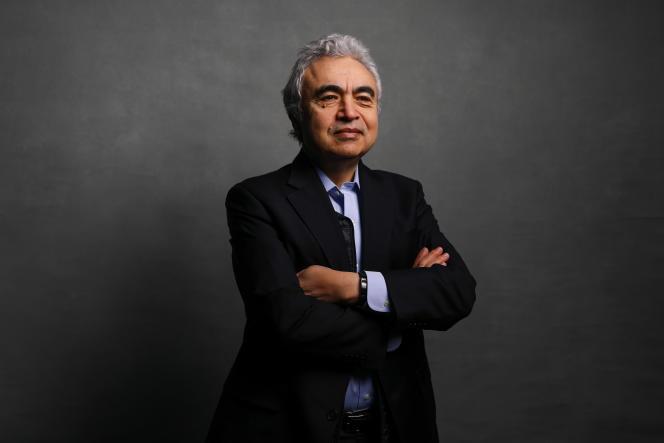Fatih Birol, directeur exécutif de l'Agence internationale de l'énergie (AIE)lors de la journée d'ouverture du Forum économique mondial (WEF) à Davos, en Suisse, le mardi 21 janvier 2020.