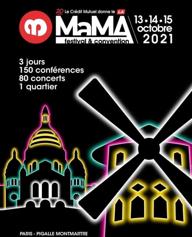 Le Marché des musiques actuelles (MaMA), convention professionnelle et festival.