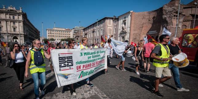 Les ailes coupées, Alitalia s'efface au profit d'ITA