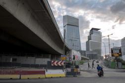 Passage auto-routier entre Paris et Ivry-sur-Seine (Val-de-Marne), à Paris, le 14 septembre 2021.