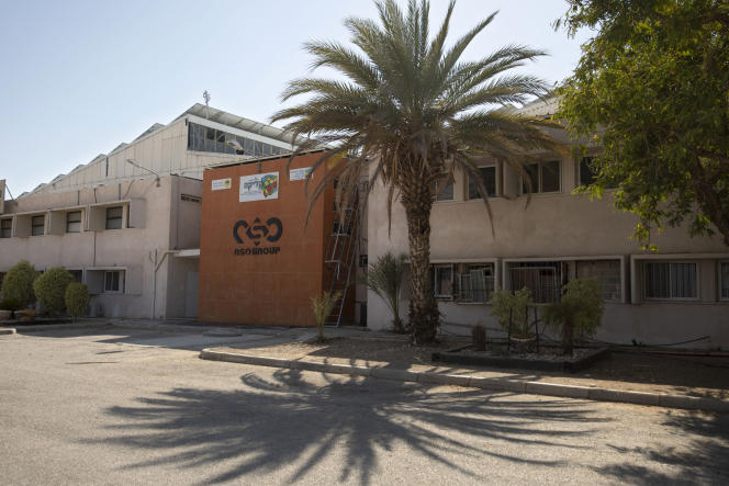 Des locaux de NSO Group à Sapir, en Israël.