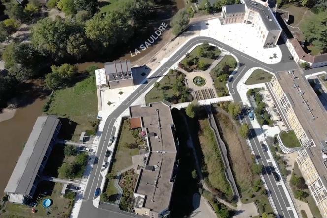 La commune de Romorantin s'adapte à la montée des eaux dans le Loir-et-Cher.