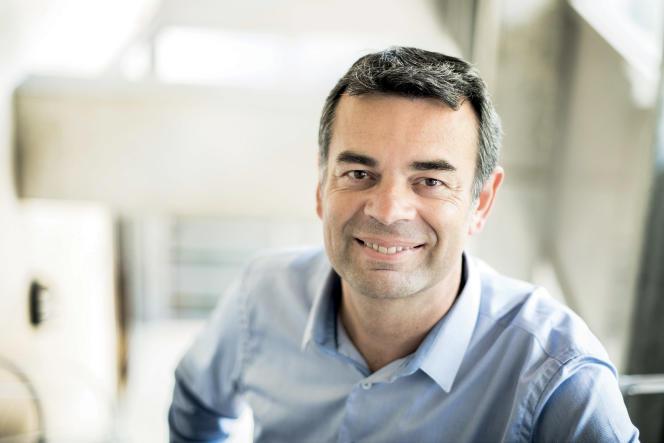 Le professeur Antoine Pelissolo, chef de service de psychiatrie des hôpitaux Henri-Mondor et Albert-Chenevier (AP-HP, Créteil), en octobre 2017.