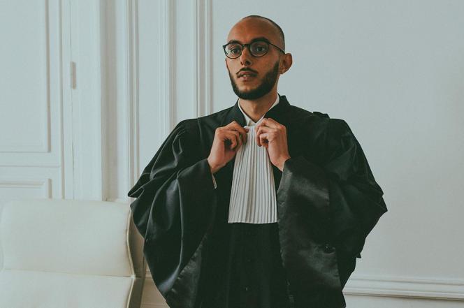 L'avocat valenciennois Kamel Derouiche, 29ans, collaborateur au cabinet de Yassine Yakouti, à Paris, le 27septembre 2021.