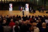 Lors d'un meeting de Valérie Pécresse, candidate à l'investituredes Républicains, à Clamart (Hauts-de-Seine), le 15octobre2021.
