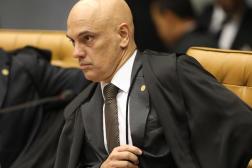 Le juge Alexandre de Moraes au Tribunal suprême fédéral, Brasilia, le 4 avril 2018.