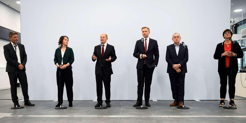 En Allemagne, la coalition réunissant le SPD, les Verts et les libéraux du FDP est en bonne voie