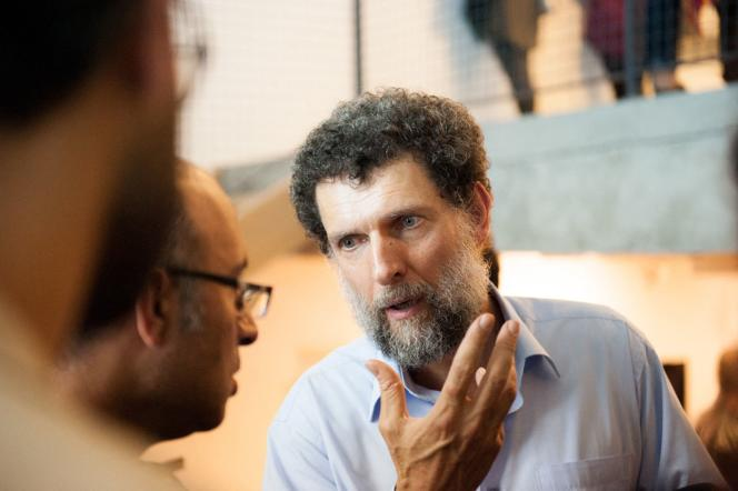 Osman Kavala at an event in Istanbul, date unknown.