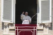 Le pape François sur la place Saint-Pierre, à Rome, le 17 octobre 2021.
