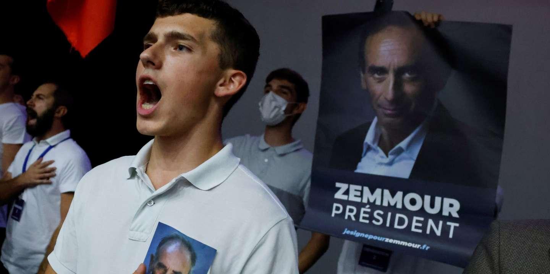A Béziers, Eric Zemmour propose d'« enlever le pouvoir » aux « contre-pouvoirs »