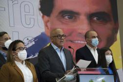 Le président du Parlement Jorge Rodriguez a annoncé la décision du gouvernement, samedi 16 octobre, à Caracas.