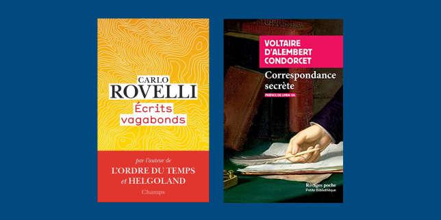 Carlo Rovelli, Voltaire, d'Alembert et Condorcet: la chronique «poches» de François Angelier