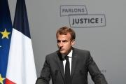 Emmanuel Macron lors des