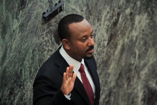 Le premier ministre éthiopien, Abiy Ahmed, à Addis-Abeba, le 4 octobre 2021.