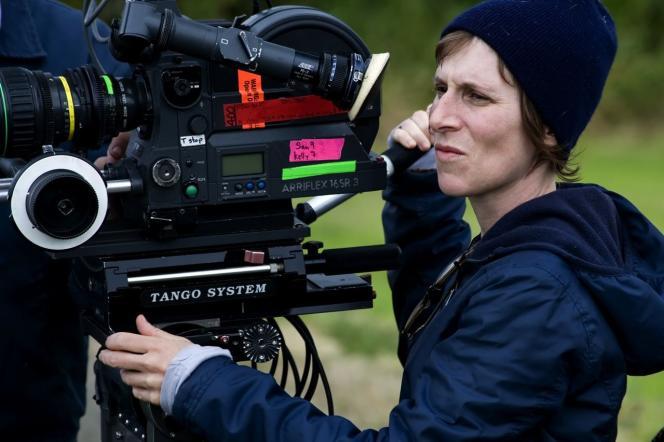 Kelly Reichardt lors du tournage de Wendy et Lucy en 2008.