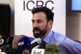 Fabrizio Carboni, le directeur pour le Moyen-Orient du CICR, lors d'une conférence de presse à Sanaa, au Yémen, en décembre 2018.