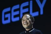 Li Shufu, PDG du groupe chinois Geely, maison-mère du constructeur suédois Volvo, le 3 juillet 2019, à Pékin.