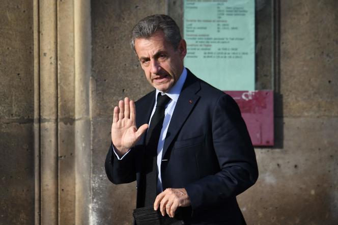 Nicolas Sarkozy sera contraint de déposer comme témoin dans l'affaire des «sondages de l'Elysée», le 2novembre 2021.