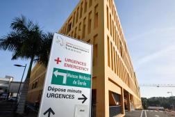Le centre hospitalier universitaire Pierre-Zobda à Fort-de-France, le 31 août 2021.
