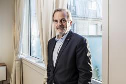 Le président de la Commission de régulation de l'énergie, Jean-François Carenco, à Paris, le 14 octobre 2021.