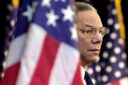 Le secrétaire d'Etat Colin Powell, à Washington, le15 février 2001.