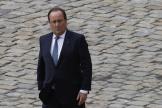 L'ancien président de la République François Hollande, le 29septembre 2021, à Paris.