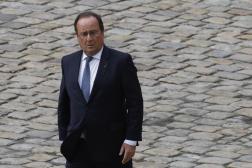 L'ancien président de la République Francois Hollande, le 29 septembre 2021 à Paris.