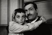 Bébert (Martin Lartigue) et l'inspecteur de la SNCF Barthoin (Michel Serrault) dans«Bébert et l'omnibus» (1963), d'Yves Robert.