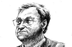 Le journaliste Daniel Psenny, lors de son témoignage au procès du 13 novembre, à la cour d'assises de Paris, le 19 octobre 2021.
