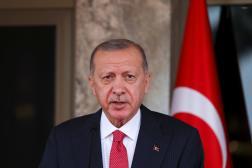 Le président turc, Recep Tayyip Erdogan, le 20 octobre 2021.