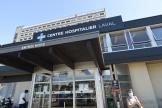 Le centre hospitalier de Laval, en Mayenne, le 9juillet2020.