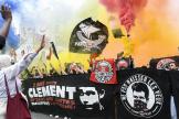 Manifestation en mémoire de la mort de Clément Méric, à Paris, le 5 juin 2021.