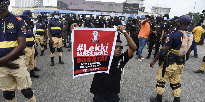 Au Nigeria, la jeunesse refuse d'« oublier » le massacre de Lekki
