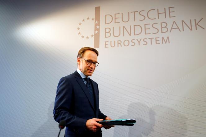 Le président de la Bundesbank, Jens Weidmann, à Francfort (Allemagne), le 27 février 2019.