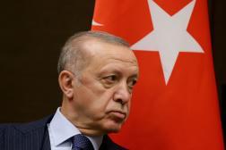 Le président turc, Recep Tayyip Erdogan, à Sotchi, en Russie, le 29 septembre 2021.