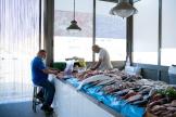 Sur le marché aux poissons de Mazara del Vallo (Italie), le 16 juin 2021.